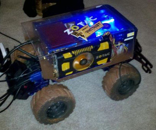 lanzilla remote control car casemod by stephen popa