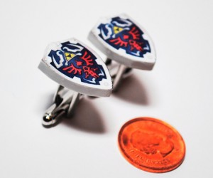 Legend of Zelda Cufflinks: A Link to the Cuff