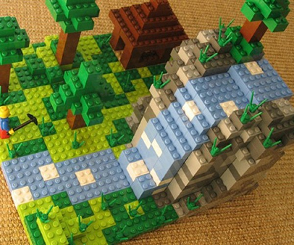 LEGO to Release Official Minecraft Set: Build Bricky Blocks With Blocky Bricks