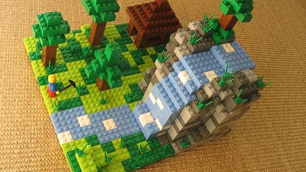 lego minecraft concept