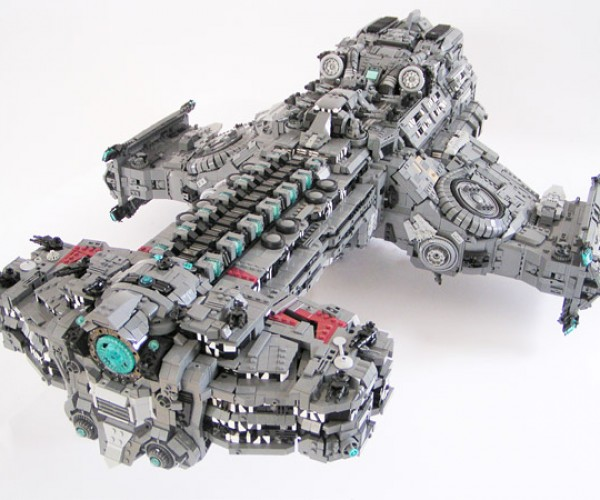 LEGO Starcraft Battlecruiser: Bricks of Liberty
