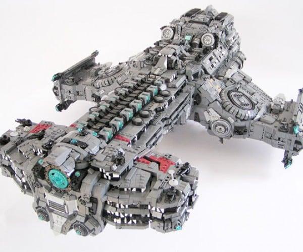 LEGO Starcraft Battlecruiser: Bricks of Liberty