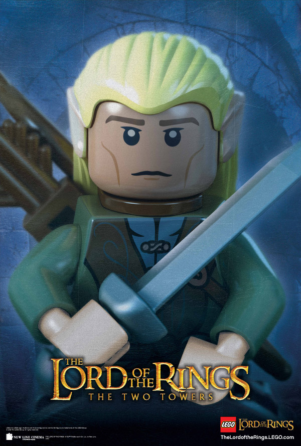 lego lotr poster 1