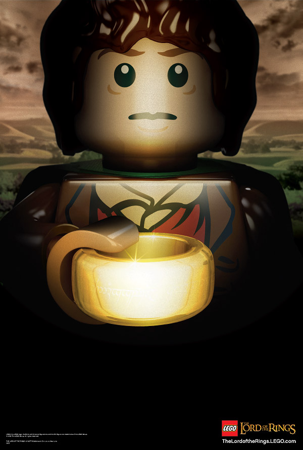 lego lotr poster 2