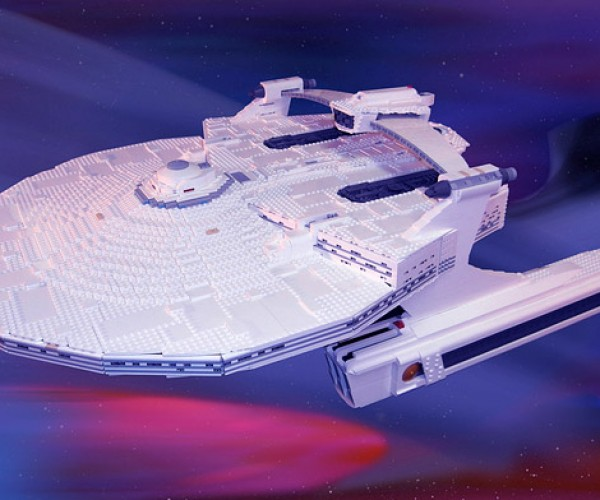 LEGO U.S.S. Reliant Looks Way Better than When Kirk Shot it Up