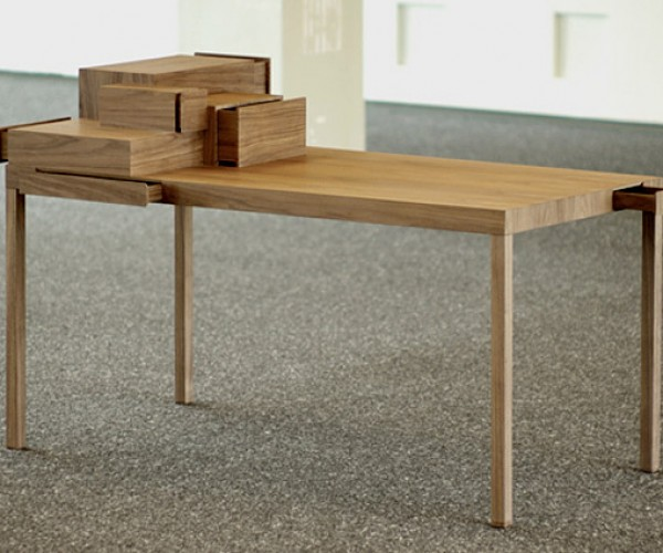 Listen To Your Hands Table: When One Drawer Closes, Another One Opens