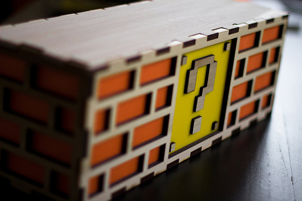 mario question block lamp by the back pack shoppe 3
