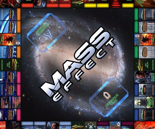 Mass Effect Monopoly: Save the Galaxy One Dice Roll at a Time