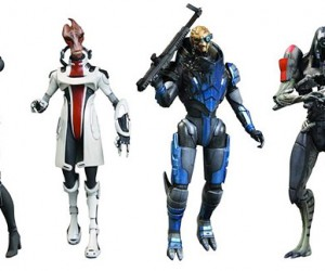 Mass Effect Action Figures to Come with Mass Effect 3 DLC