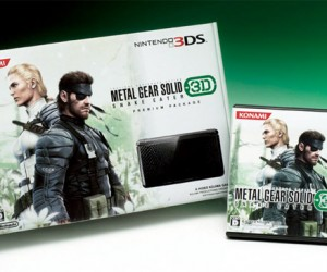 Metal Gear Solid: Snake Eater 3DS System Coming (to Japan Only)