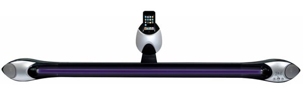 music dock shaper image lighting effect strobe ipod iphone