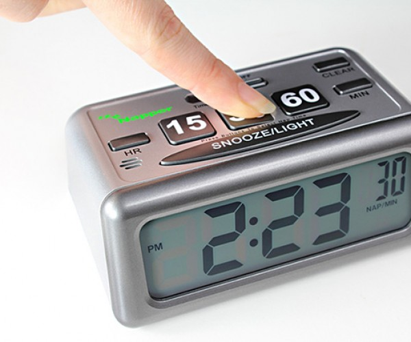 Napper Clock: Because We Really Are This Lazy