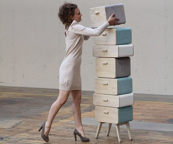 Oturakast Modular Cabinet: Sit on It!