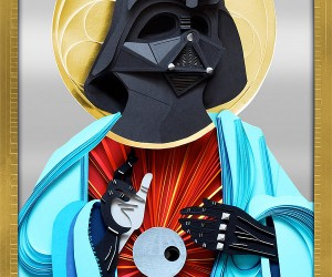 Paper Vader Jesus: Pray to the Dark Side of the Force