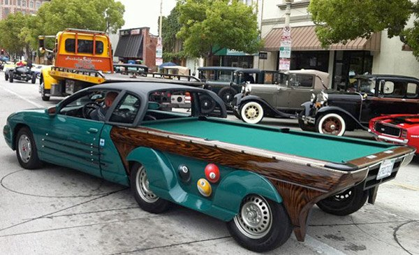 pool table car 1