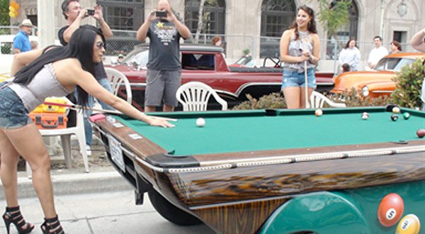 pool table car 2
