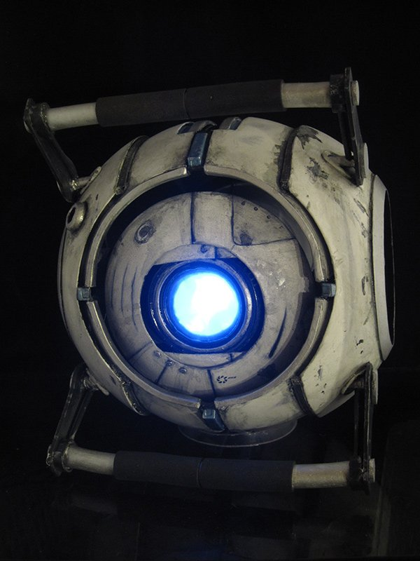 portal 2 wheatley replica by chris hooton