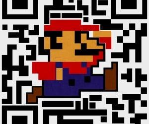 QR Code Super Mario: Unscannable Plumber