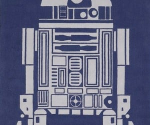 R2-D2 Area Rug: You're Standing on the Droid You're Looking for