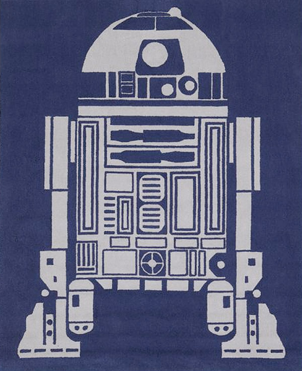 R2 D2 Area Rug You Re Standing On The Droid You Re