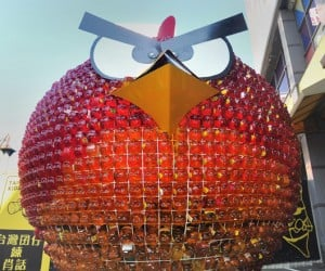 Angry Red Bird for Taiwan Presidential Candidate: Only in Asia