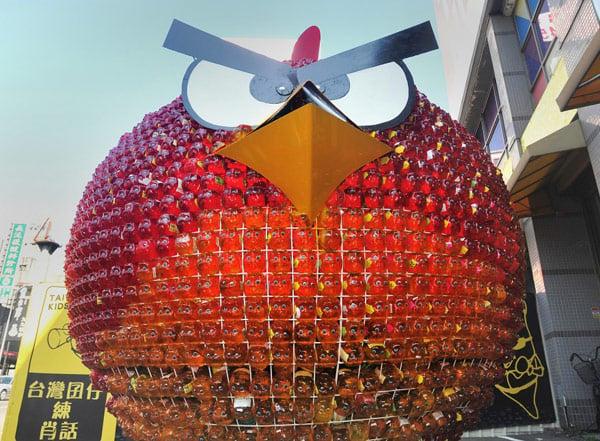 red angry bird taiwan asia presidential tsai ing-wen