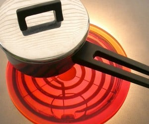 Red Hot Trivet Won't Burn You