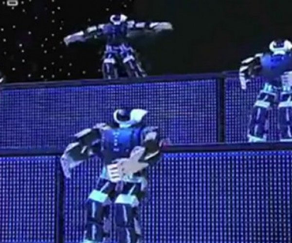 Robots Dance in the Chinese New Year