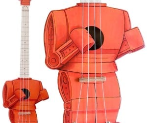 Rock 'em Sock 'em Robot Ukulele: You Rocked My Block Off!