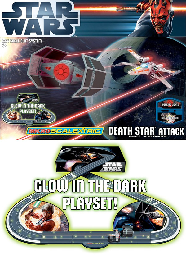 scalextric star wars death star attack