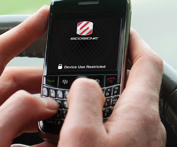 Scosche cellCONTROL Blocks Dangerous Cell Phone Use While Driving