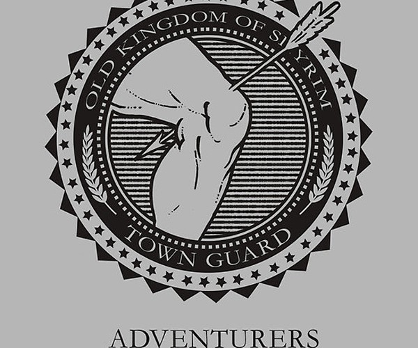 Skyrim Town Guards T-Shirt: There's Your Meme, Now Shut Up