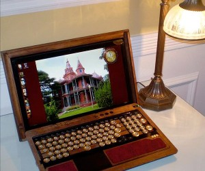 Steampunk Sony VAIO F Goes Back to the Victorian Era