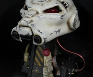 Warhammer 40K Space Marine Helmet – There's Paper Under There