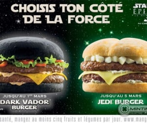 France Getting Star Wars Burgers: Taste the Dark Side of the Bun