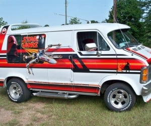 Retro Star Wars Van is Totally Awesome, Totally Not Worth $9k