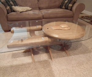 Starship Enterprise Coffee Table: Bean Me Up, Scotty!