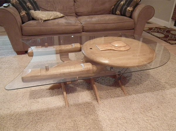 starship enterprise coffee table 1