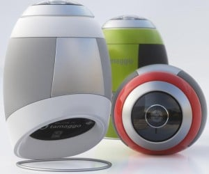 Tamaggo 360-imager Shoots 360-Degree Images With Ease