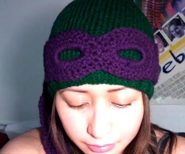 teenage mutant ninja turtles convertible beanie by miss pamela 2