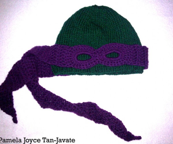 teenage mutant ninja turtles convertible beanie by miss pamela 4