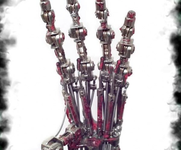 Own Your Own WORKING Terminator Arm