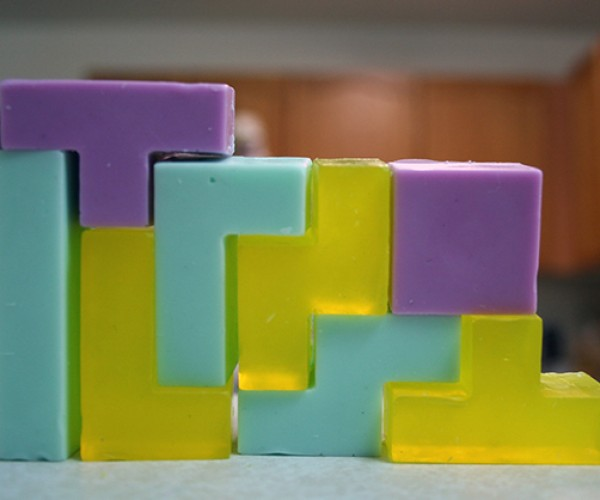 Tetris Soap Set Clears Dirt and Stench
