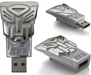 Transformers 3 Flash Drives: Metal Head Robots