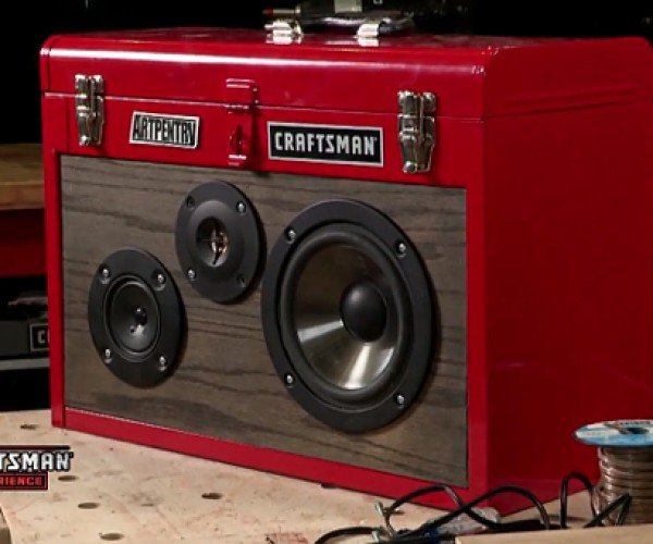 Toolbox Boombox: for Garage Bands