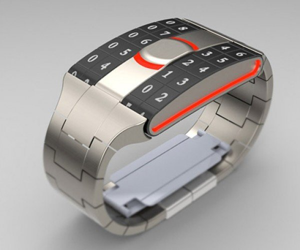 Trax MkII Concept Watch is Militaristic and Easy to Read