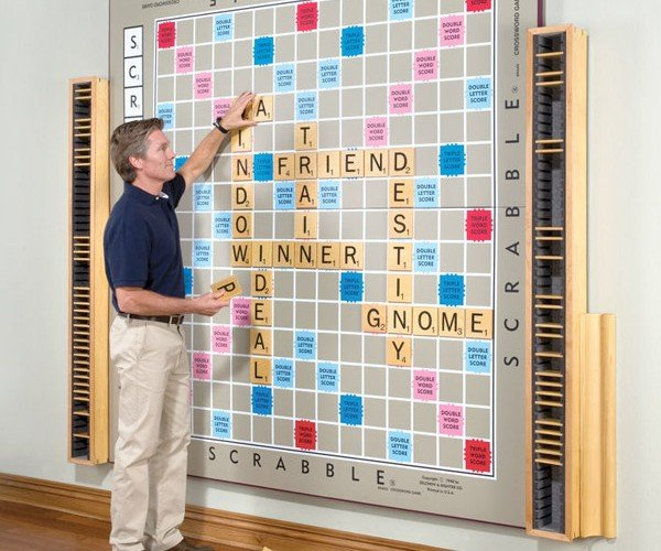 Giant Scrabble Board Still Guaranteed to Give You All Vowels