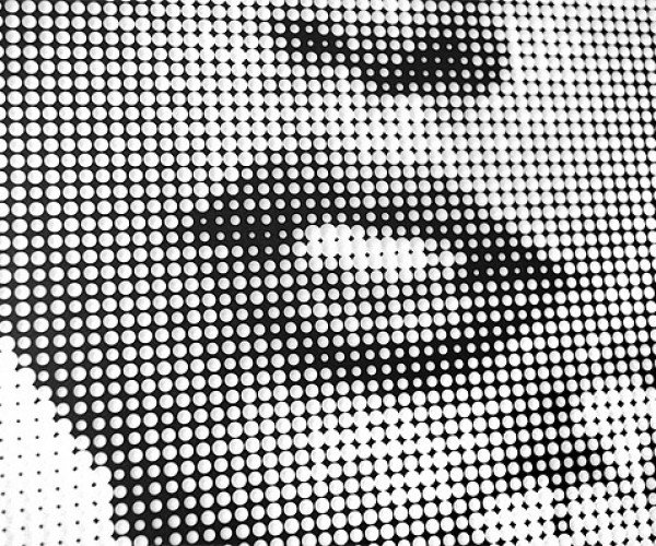 3Tone Halftone Art: Painting with Drill Bits