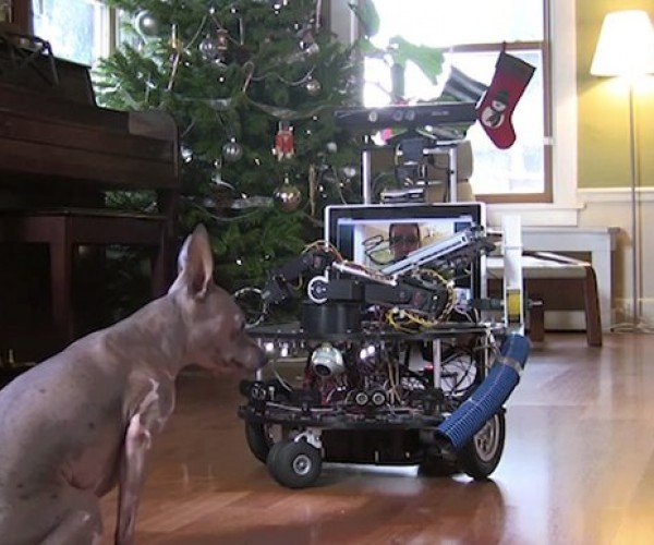 DarwinBot: The Robotic Dog Sitter