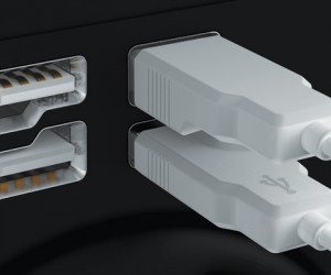 Eidetic USB Connector Makes Sure You Plug It in Right, Every Time